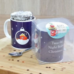 Jingle Bells Chocolate Mug Cake Gift Set
