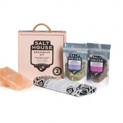 Salthouse Himalayan Salt Block Gravadlux Salmon Curing Kit