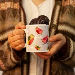 Silver Robins Chocolate Mug Cake Gift Set