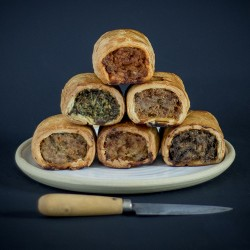 Artisan Sausage Rolls Mixed Flavour Selection (Box of 16)