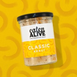 Vegan Raw Classic Sauerkraut
