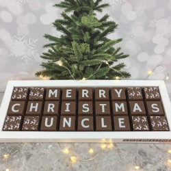 Personalised Christmas Chocolates for Uncle, Brother or Cousin
