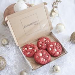 Vegan Red Velvet Cookies (Box of 9)