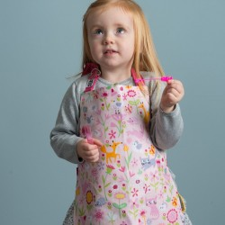 Flora's Garden Childs Apron for Baking or Art & Craft