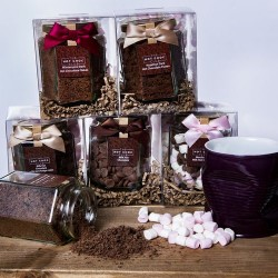 Luxury Hot Chocolate Jars
