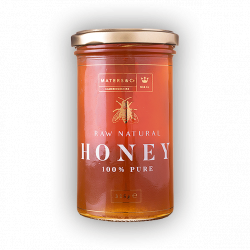 Pure Raw Spanish Heather Honey