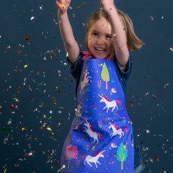 Fun Childs Unicorn Apron for Baking or Art & Craft