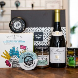 British Wine & Cheese Hamper