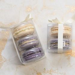 Purple Macaron Favours