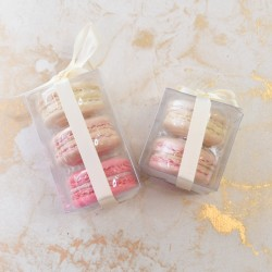 Pink Macaron Wedding Favours/ Party Favours