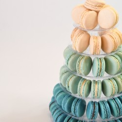 Ombré Macaron Tower (Choice of Colour)