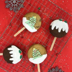 Christmas Cookie POPs (Box of 4)