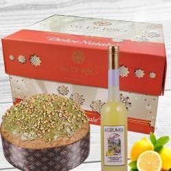 Agrumia Limoncello and Sal De Riso Festive Cake Hamper