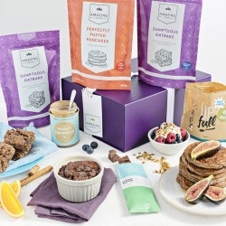 Luxurious Vegan Baking Mix Hamper with exquisite extras (Exclusive)