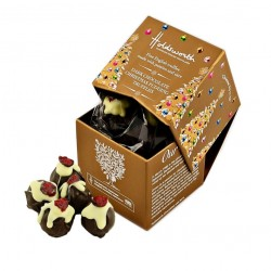 Dark Chocolate Christmas Pudding Truffles (2 Boxes)