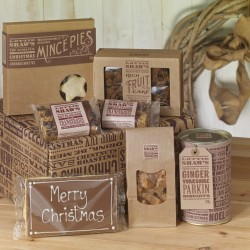 Merry Christmas Treats Hamper Box
