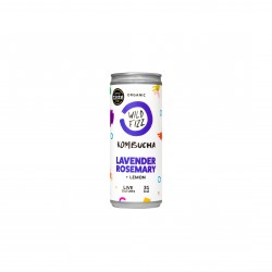 Lavender fields Kombucha Fermented Tea (12 Cans)