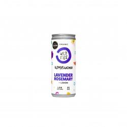 Lavender fields Kombucha Fermented Tea (12 Cans)