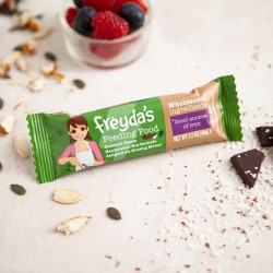 Breastfeeding Brownie Snack Bars - Freyda's Coconut Cocoa Feeding Food (Pack of 9)