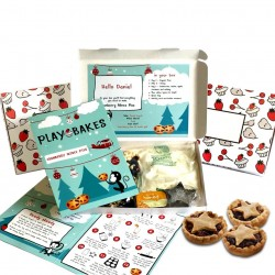 Personalised Kids Cranberry Mince Pies Baking Kit