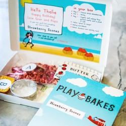 Personalised Kids Baking Gift Subscription