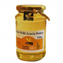 Organic Raw Hungarian Acacia Honey