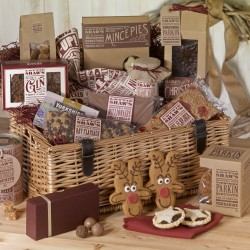 Deluxe Christmas Basket Hamper