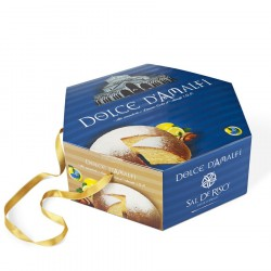 Dolce d'Amalfi Cake with Lemons I.G.P. and Almond