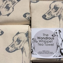 Whippet Tea Towel