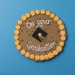 Graduation Giant Chocolate Chip Cookie Card