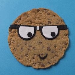 """Smart Cookie"" Giant Chocolate Chip Cookie"