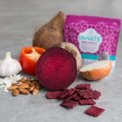Beetroot Squares Savoury Snacks