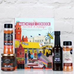 The Manchester Cookbook Second Helpings Barbecue Gift Set