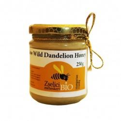 Organic Raw Hungarian Dandelion Honey