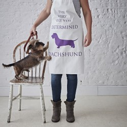 The Determined Dachshund Apron