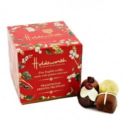 Traditional Festive Chocolate Truffles
