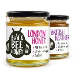 Black Bee Honey Twin Pack - London & Heather