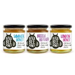 Black Bee Honey Triple Pack - London, Summer & Heather