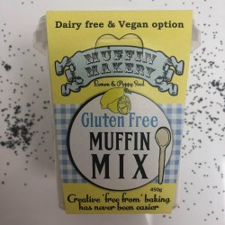 Gluten Free Lemon & Poppy Seed Muffin Mix