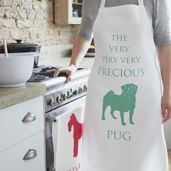 The Very Precious Pug Apron