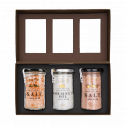 Vegan Grandiose Himalayan Salt & Coconut Oil Collection