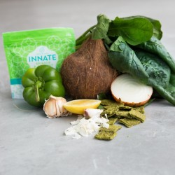 Spinach & Coconut Savoury Super-Snacks