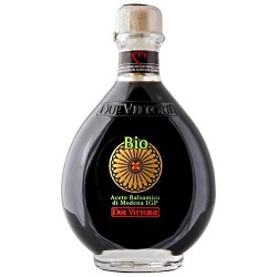 Organic Due Vittorie Balsamic Vinegar of Modena IGP 250ml with pourer