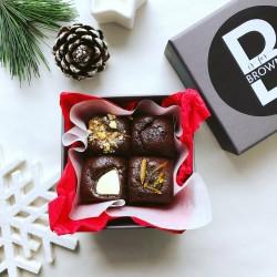 Festive Little Brownie Box (Gluten free)