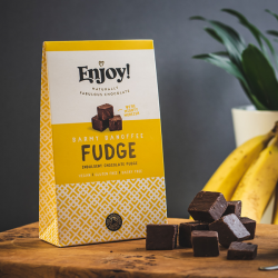 Organic Vegan Banoffee Chocolate Fudge
