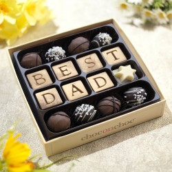 Best Dad Chocolate Truffle Box