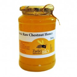 Organic Raw Hungarian Chestnut Honey