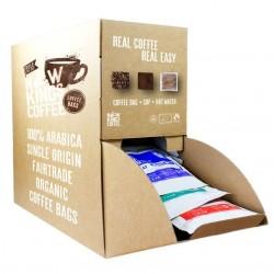 Fairtrade Organic Coffee Bags Bulk Dispenser Box
