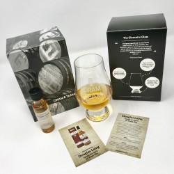 Whisky Glass with Christmas Dram Gift Set
