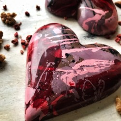 L.O.V.E Milk Chocolate Heart Valentine's Day Gift